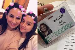 Phi Nhung hạnh phúc vì con gái thành y tá tại trung tâm y tế Mỹ