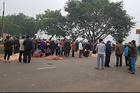 Xe khách đâm đoàn người đưa tang ở Vĩnh Phúc, 7 người chết