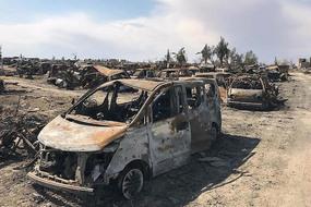 Rợn người địa ngục trần gian ở sào huyệt cuối cùng của IS