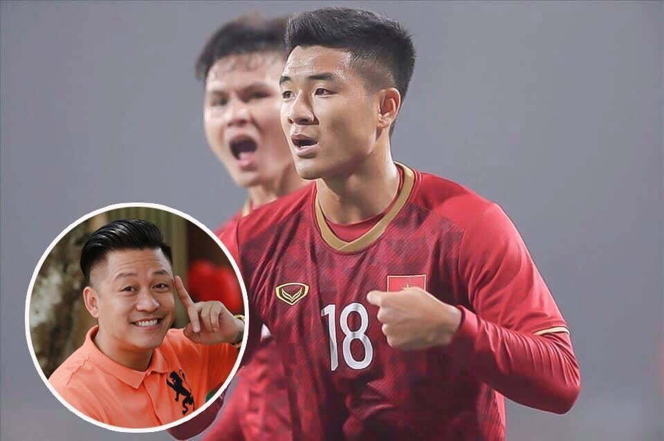 Tuấn Hưng cảm ơn Hà Đức Chinh khi U23 VN thắng U23 Thái