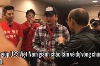 Thắng đậm Thái Lan, thầy trò HLV Park Hang Seo được dàn tài tử Hàn Quốc đích thân vào phòng họp báo chúc mừng