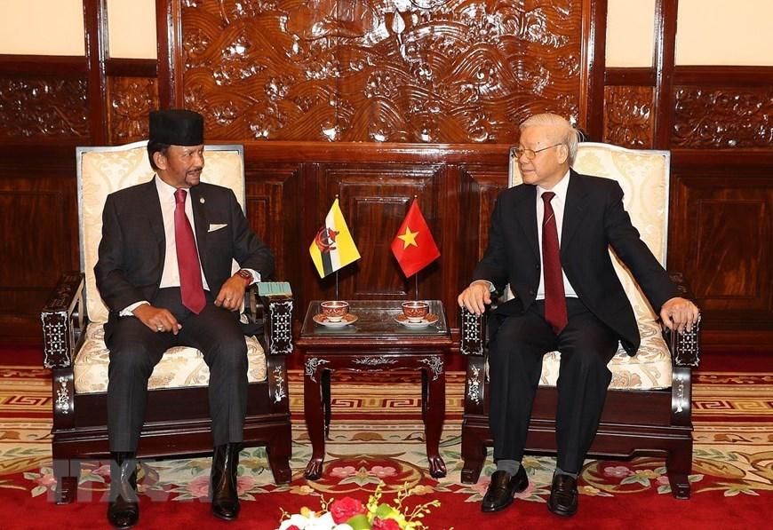 Đưa quan hệ Việt Nam-Brunei lên tầm Đối tác Toàn diện