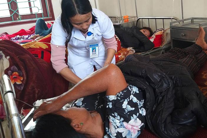 Ngộ độc tập thể ở Hà Tĩnh: Thêm 14 người nhập viện
