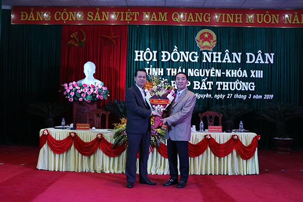 Thái Nguyên có tân Phó Chủ tịch UBND tỉnh