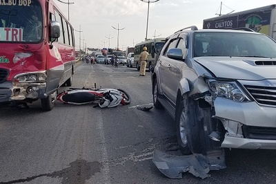 Chỉ tên 11 điểm đen tai nạn giao thông cần xóa ở Sài Gòn