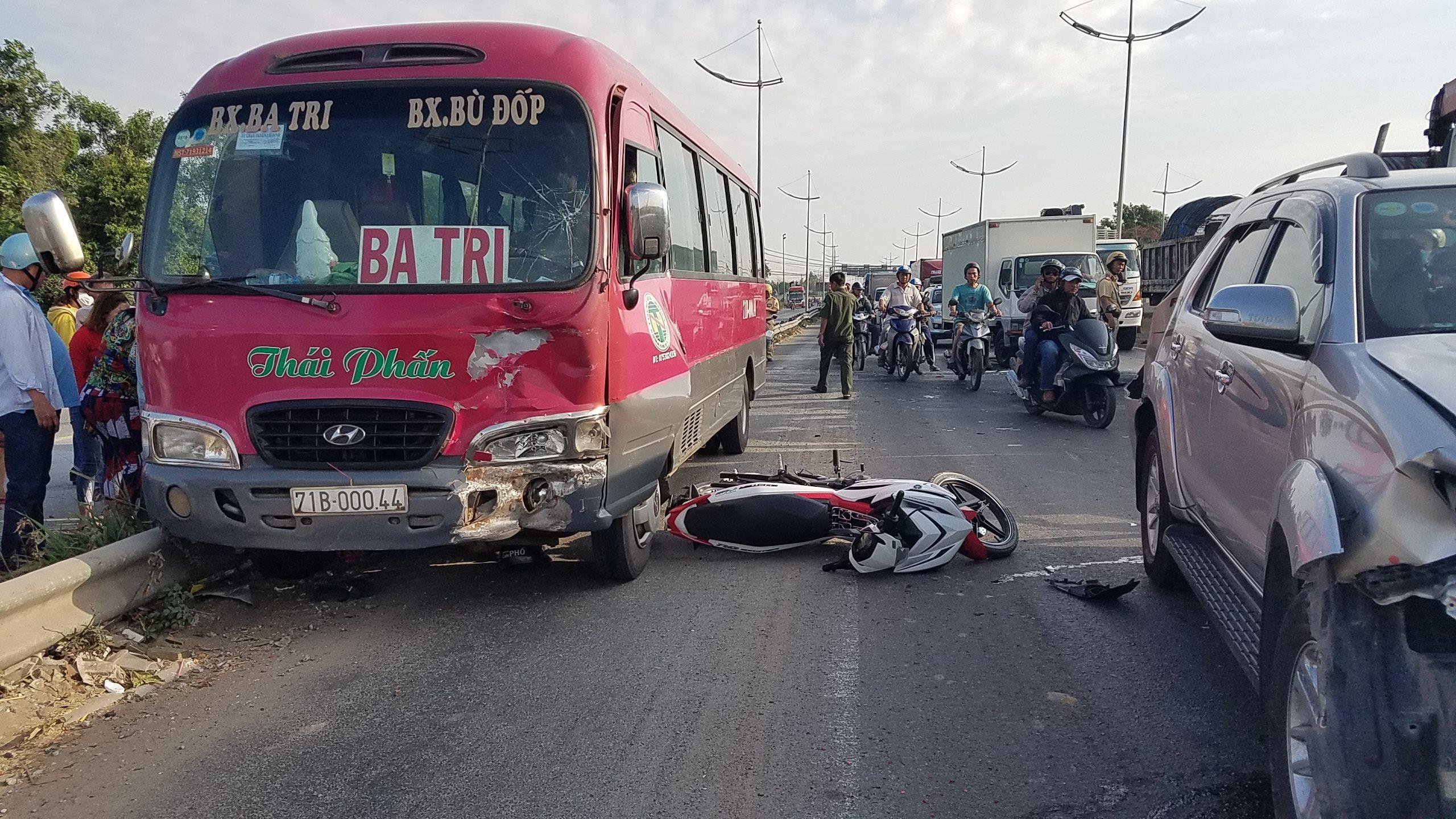 Tai nạn giao thông,tai nạn chết người,tai nạn liên hoàn,sài gòn