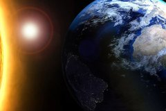 Chiêm ngưỡng cảnh mặt trời mọc từ tàu vũ trụ