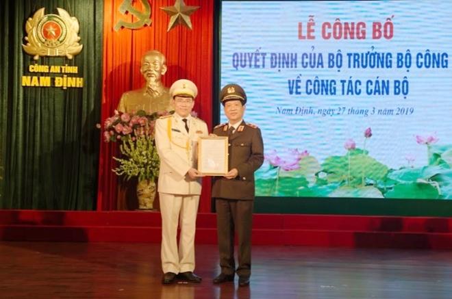 Bổ nhiệm Giám đốc Công an tỉnh Nam Định