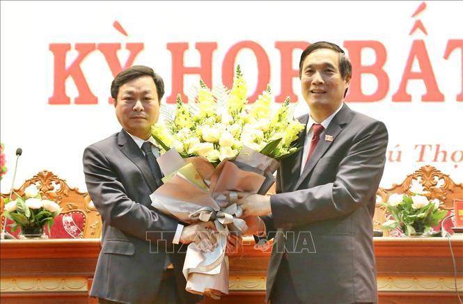 Phú Thọ bầu Chủ tịch HĐND và Chủ tịch UBND tỉnh mới
