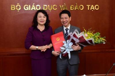 Bộ GD-ĐT bổ nhiệm các nhân sự mới