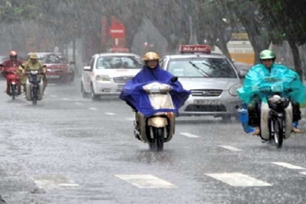 Dự báo thời tiết 28/3: Mưa dông nhiều nơi ở Bắc Bộ