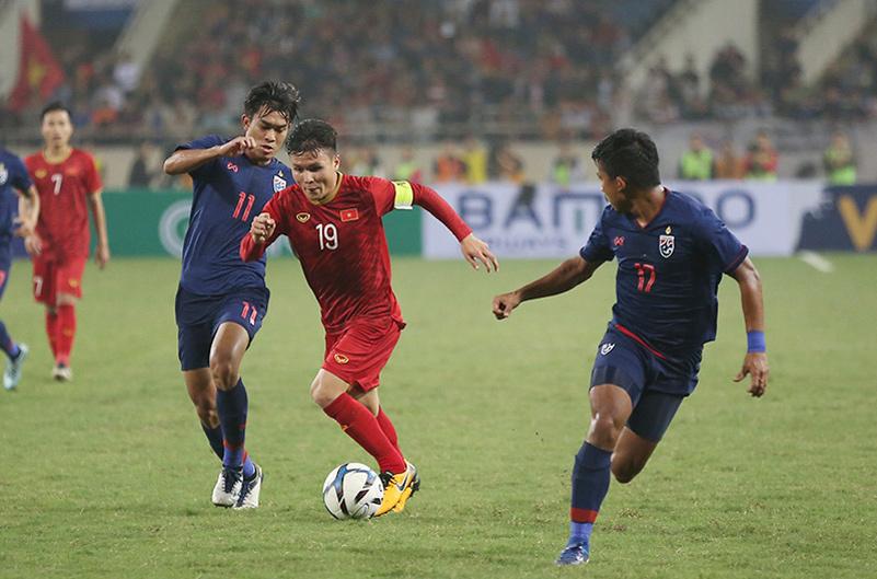 U23 Thái Lan,U23 Việt Nam,Nguyễn Quang Hải