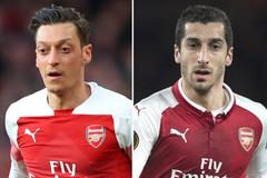 """Arsenal tống khứ hai """"ông kễnh"""" Ozil và Mkhitaryan"""