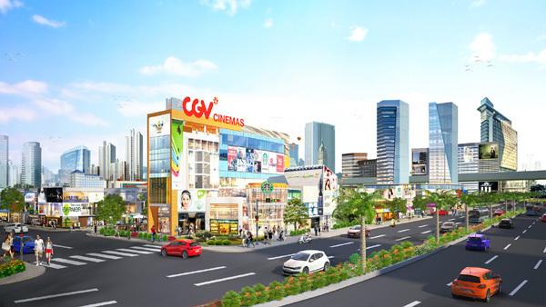 Ra mắt đô thị thương mại cửa ngõ sân bay Long Thành