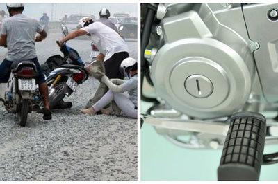 Xe máy bị kẹt số nguy hiểm tính mạng, cách xử lý nhanh chóng