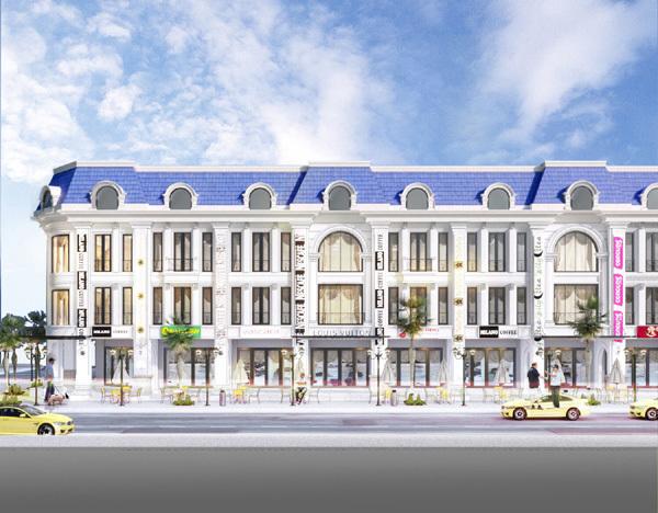 Diamond Palace- phố Địa Trung Hải ở Tây Bắc Đà Nẵng