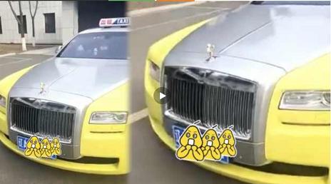 Lái siêu xe Rolls-Royce Ghost chạy taxi, 'đại gia' bị điều tra