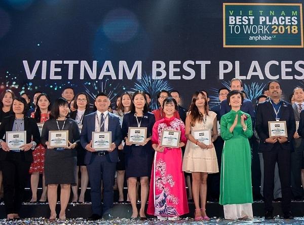 Vingroup chiếm ưu thế Top 100 nơi làm việc tốt nhất VN