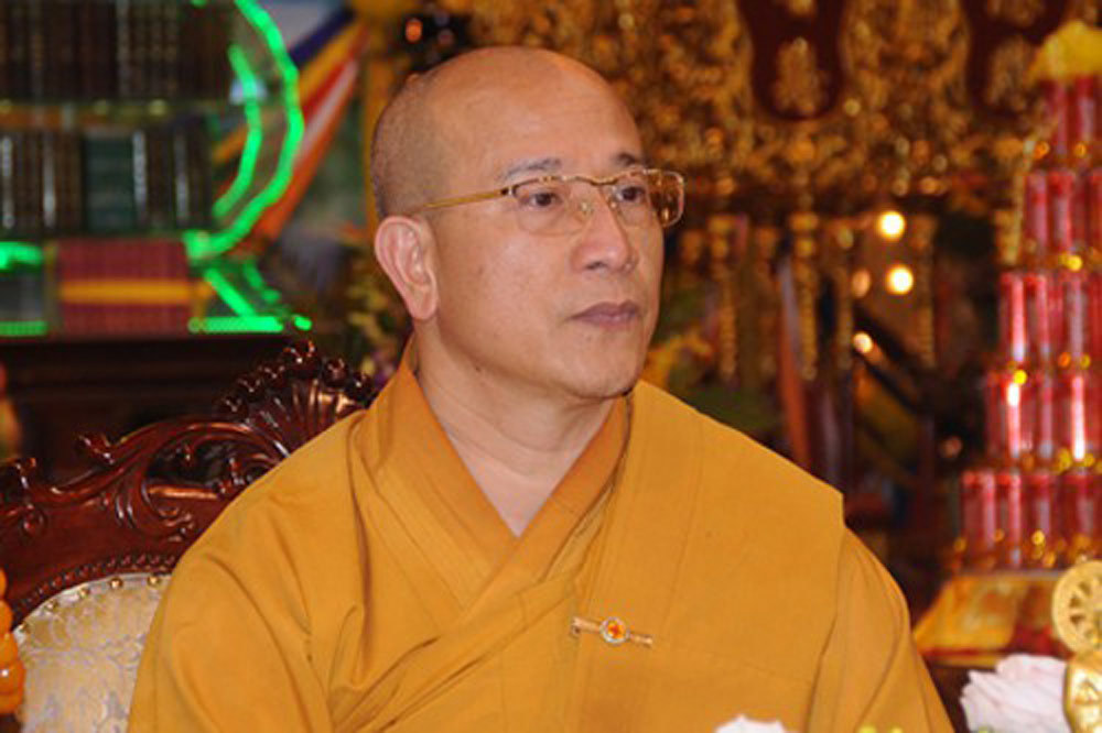 Thích Trúc Thái Minh,chùa Ba Vàng