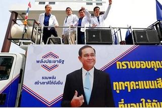 Đảng thân quân đội Thái Lan thắng phiếu phổ thông