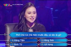 Phương Oanh 'Quỳnh búp bê' gây tranh cãi khi thi 'Ai là triệu phú'