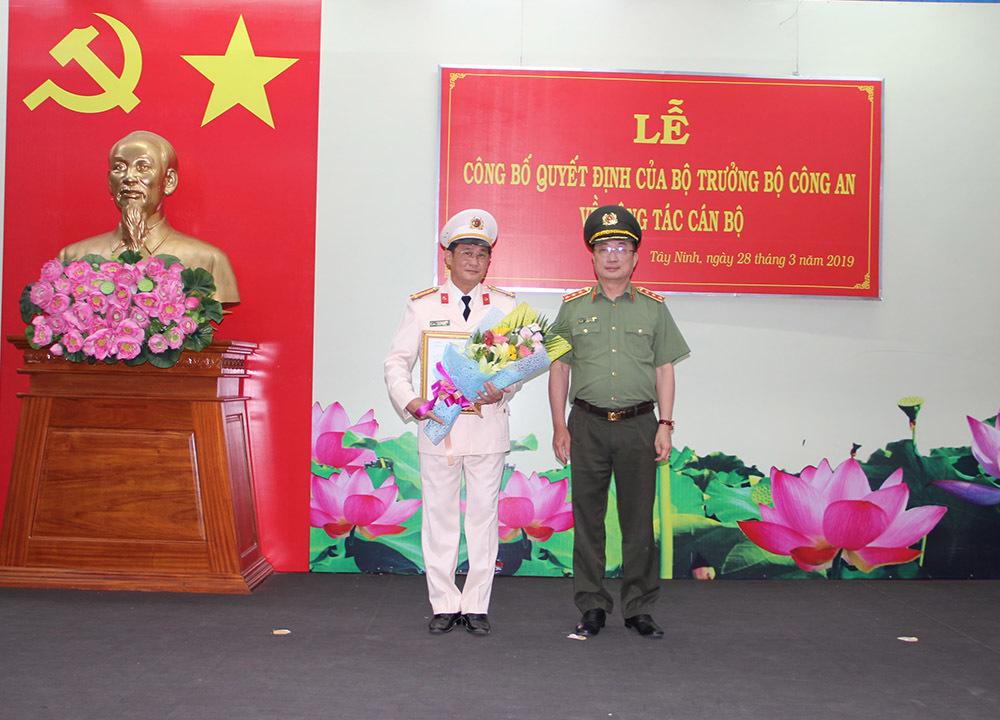 Tây Ninh,bổ nhiệm nhân sự