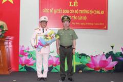 Tây Ninh có Giám đốc Công an mới