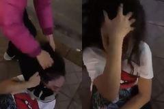 Công an điều tra vụ cô gái bị hành hung dã man trên phố Hà Nội