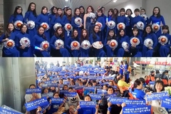 Fan mặc áo dài, cuồng nhiệt tại sân bay đón Super Junior trở lại Việt Nam
