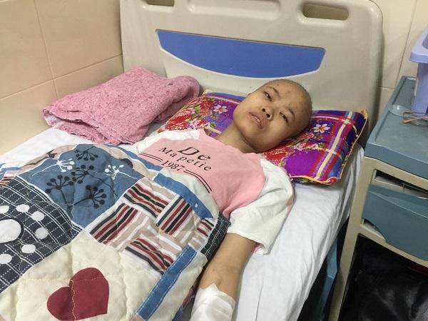 ung thư xương,hoàn cảnh khó khăn,bệnh hiểm nghèo,từ thiện vietnamnet