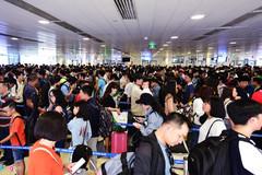 Trải nghiệm tệ ở sân bay Tân Sơn Nhất