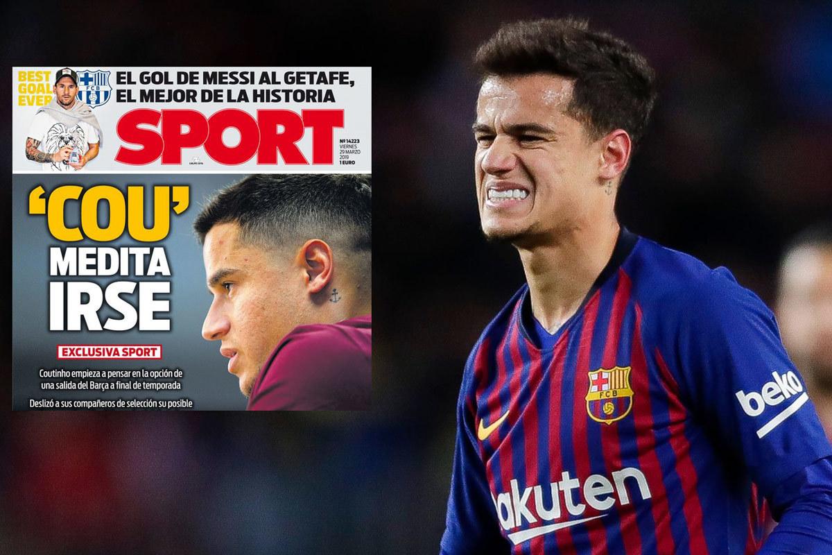 Coutinho đòi rời Barca, MU chồng tiền mua gấp