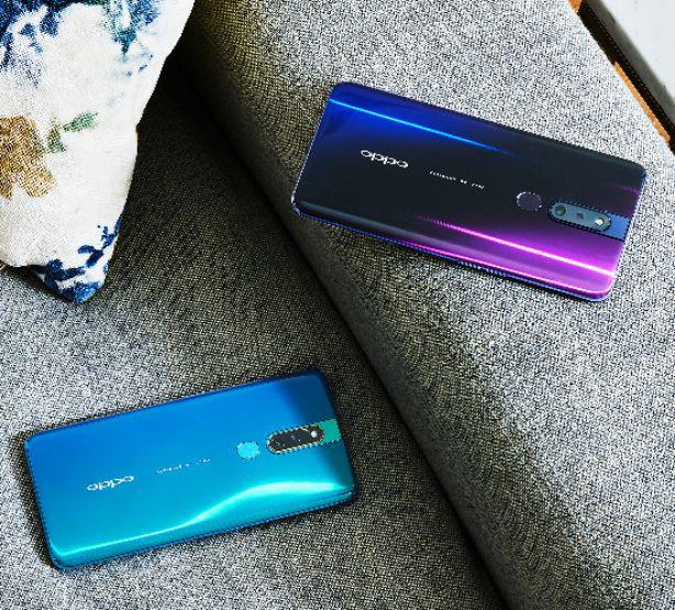 Smartphone F11 Pro và F11 ra mắt: Camera kép 48MP, chuyên chụp chân dung