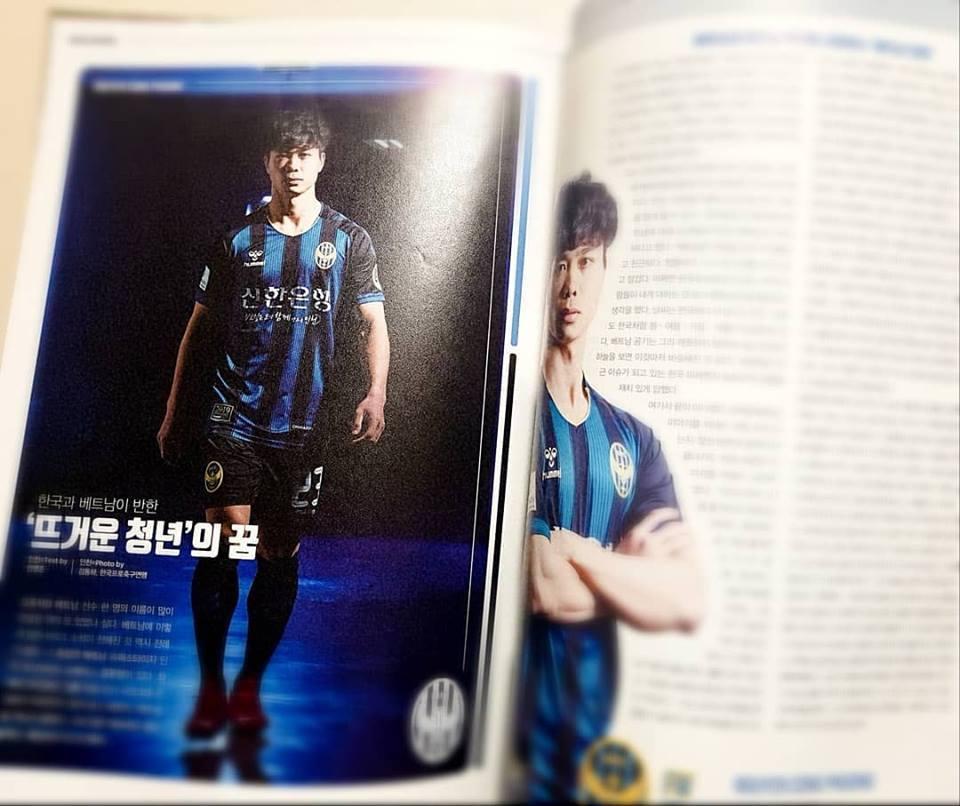 Công Phượng đẹp đốn tim trên báo Hàn, nể vì thái độ