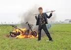 Công an Bắc Ninh đang điều tra về clip 'Khá bảnh' đập phá, đốt xe
