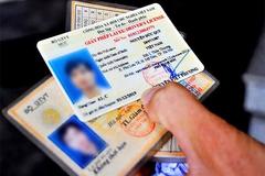 Kết nối dữ liệu từ 1/6: 'Mất bằng lái không phải thi lại'