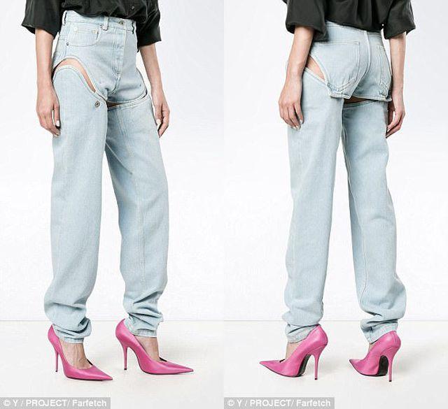 Sững sờ với thiết kế 'quần jeans' quá đỗi táo bạo