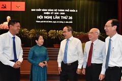 Hội nghị Thành ủy TP.HCM bàn kế hoạch nhân sự cho nhiệm kỳ tới