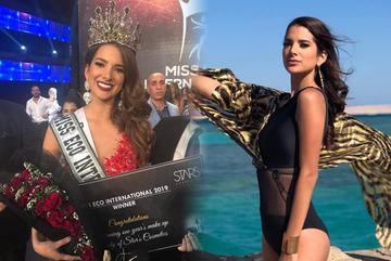 Vẻ ngoài gợi cảm của tân Miss Eco International