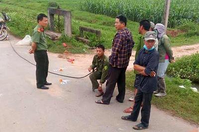 Bắt 2 đối tượng tông chết người, lấy xe nạn nhân trốn ra Hà Nội