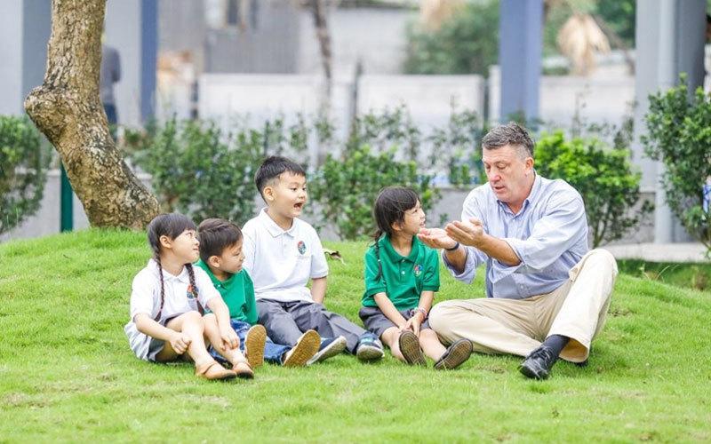 giáo dục xanh,trường học xanh
