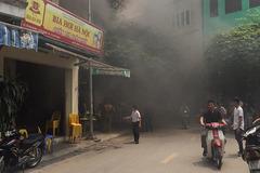 Hà Nội: Cháy quán cà phê giữa trưa, 1 người chết