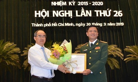 Ban bí thư,nhân sự,bổ nhiệm,TPHCM