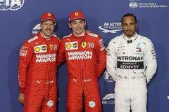 F1: Ferrari xuất phát 1-2 ở Grand Prix Bahrain