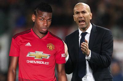 Zidane khích Pogba bỏ MU đầu quân Real Madrid