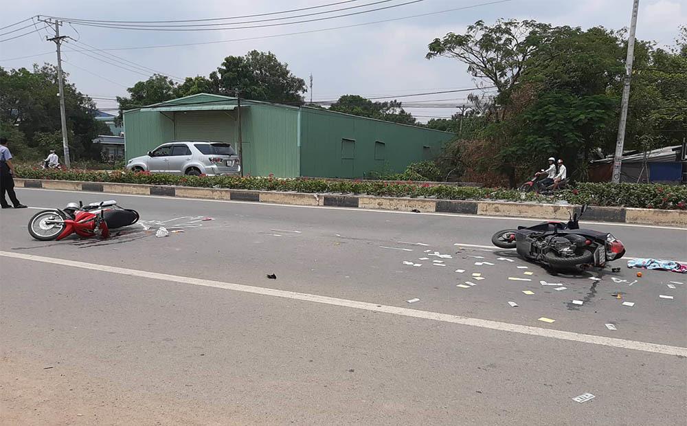 Tai nạn giao thông liên hoàn, một phụ nữ chết thảm
