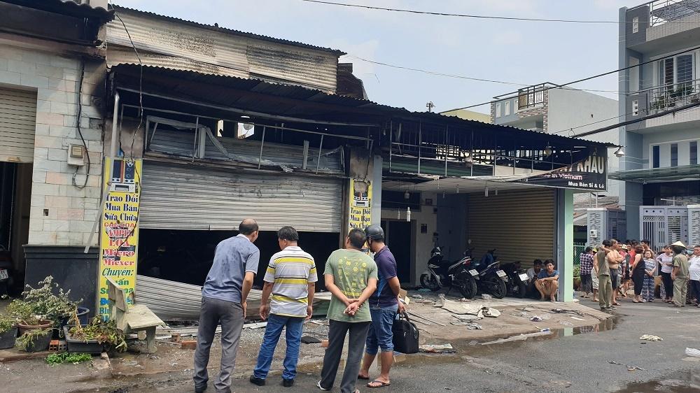 Cháy cửa hàng điện tử ở Sài Gòn, 1 một người tử vong