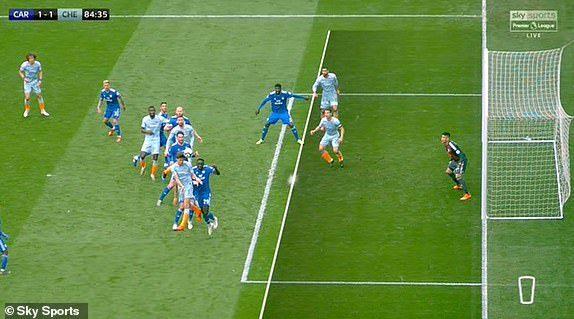 Chelsea,trọng tài,Cafdiff