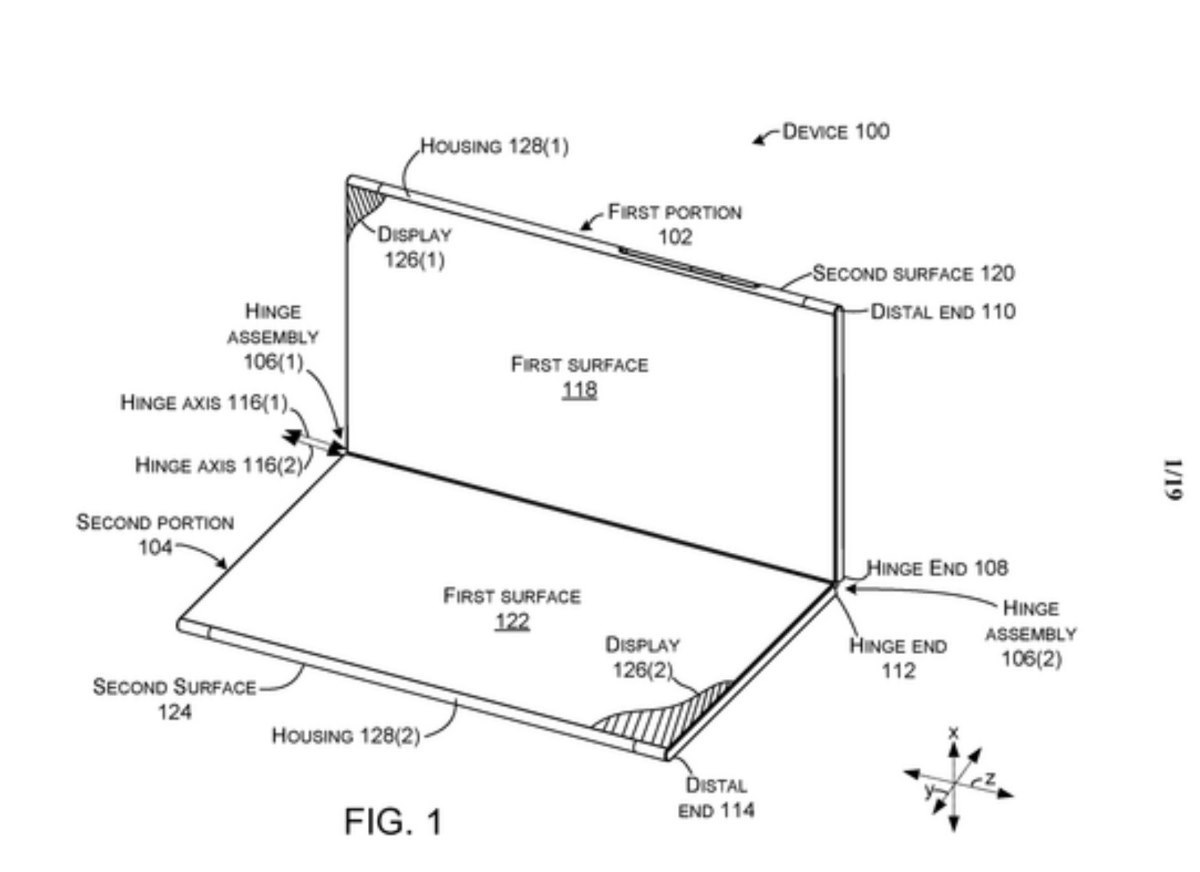 Microsoft tiếp tục phát triển smartphone gập