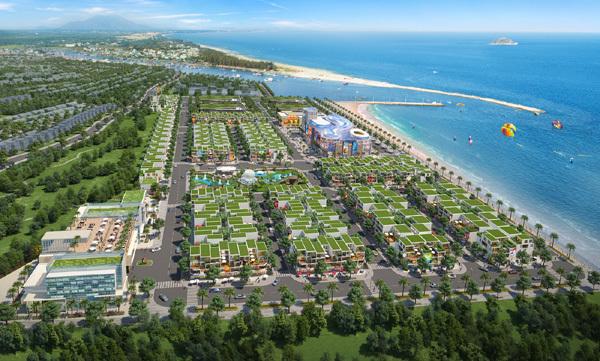 Bất động sản biển Lagi tăng vọt 'trước thềm' lên thành phố